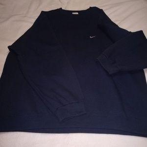 Men's XXLT vintage Nike navy crew sweatshirt